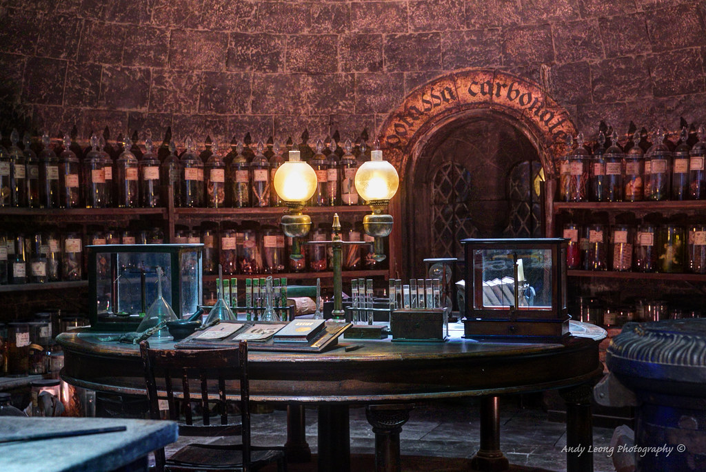 Harry Potter - The Potion Room | Professor Snape and later P… | Flickr