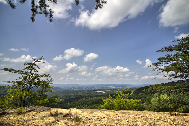 Atop Sunset Rock, White County, Tennessee