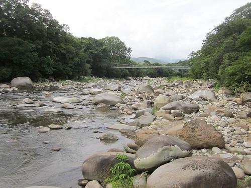 outdoor panama boquete lospozosdecaldera latinamerica water jungle trees stones