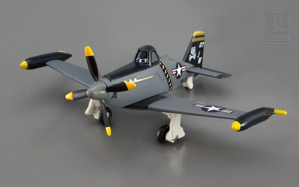 Disney ~ NAVY DUSTY from the movie Planes - 1:43 scale die