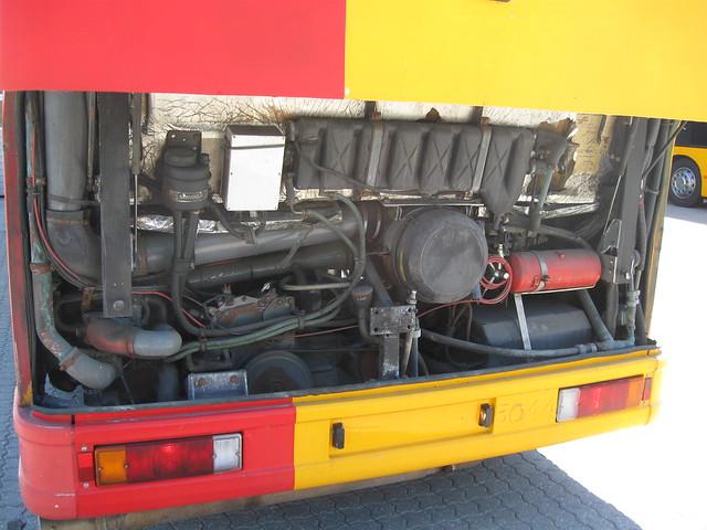 DAF LPG engine on 1997 DAB series 15 Combus 5044 OZ91747