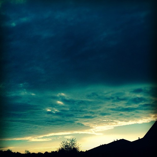 morning blue sky fall nature clouds sunrise season square landscape view ky horizon squareformat hefe owensboro procam iphotography iphoneography instagramapp cityofowensboro