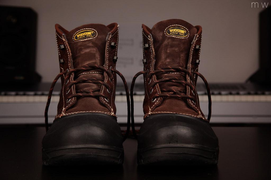 Wolverine Swamp Monster Work Boots