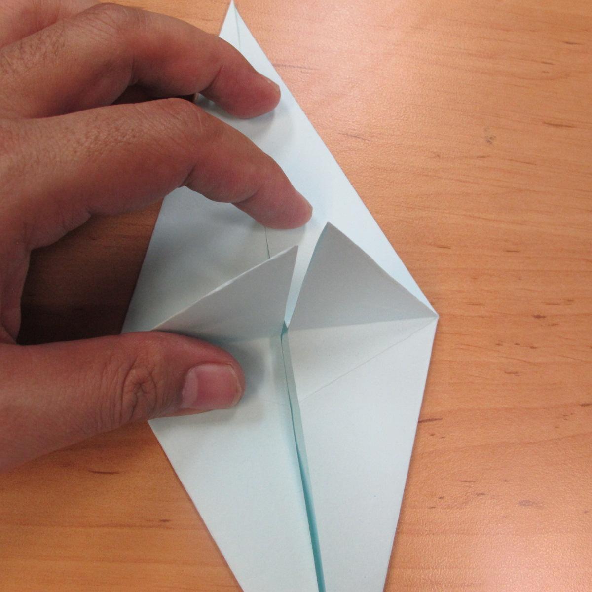 วิธีพับกระดาษเป็นรูปผีน้อย 006
