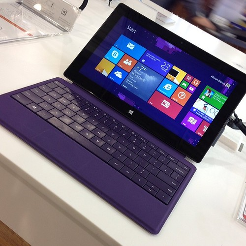 Kinda intrigued by this Surface Pro 2 colour combo. | by jfingas