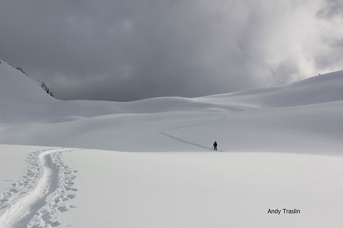 Sat, 2014-02-01 03:03 - Mt Baker Backcountry. skier Mike Traslin. photo Andy Traslin.