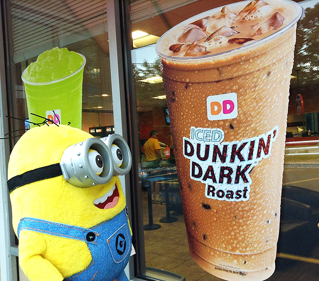 Minion Dave at Dunkin Donuts | Minion Dave from Despicable M… | Flickr