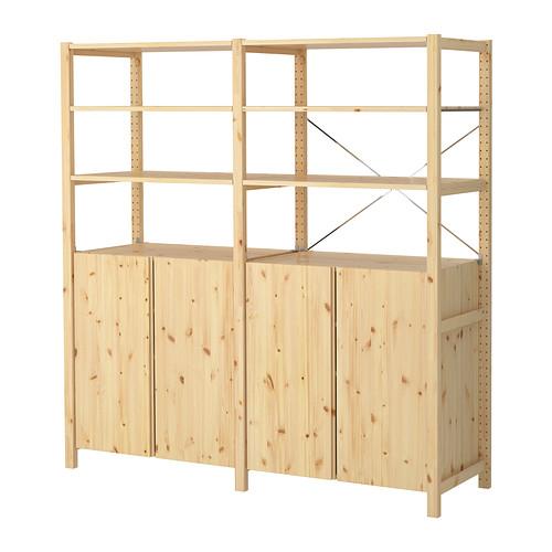 IKEA IVAR Pine Shelving Unit