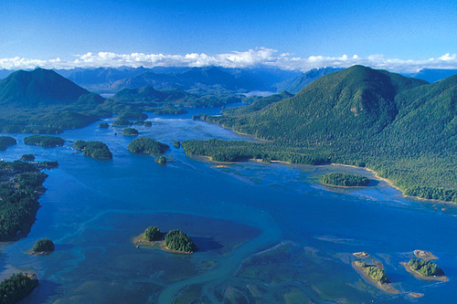 Clayoquot Sound, Tofino, West Coast Vancouver Island, British Columbia