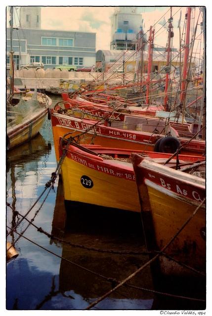 Puerto de Mar del Plata, 1984 - Mar del Plata Harbor, 1984
