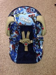 Avengers Car Seat Cover