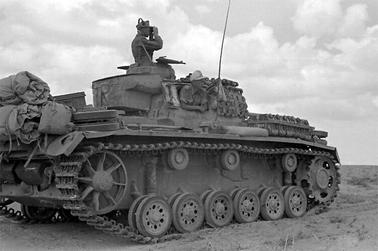 German tank Pz.Kpfw. III Ausf.G