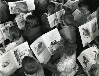 Children reading c.1960 'Celebrating World Book Day' | by Archives New Zealand