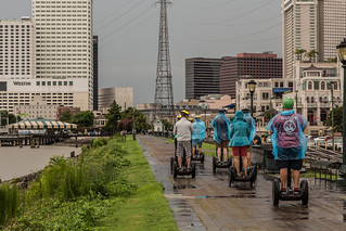 New Orleans Riverwalk Segway Tour   by Tony Webster