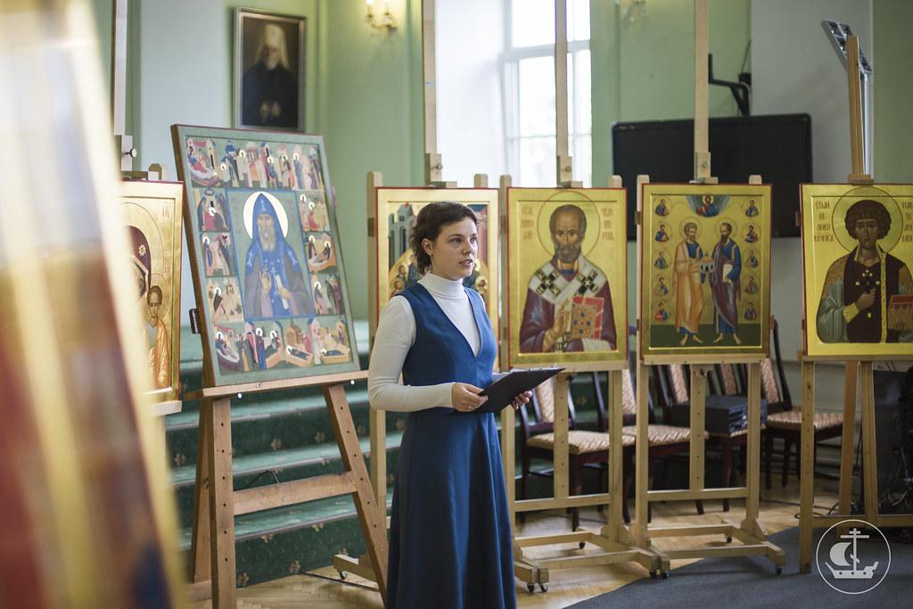 27 июня 2016, Защита дипломных работ Иконописного отделения / 27 June 2016, Defense of the diploma works of the Icon Department