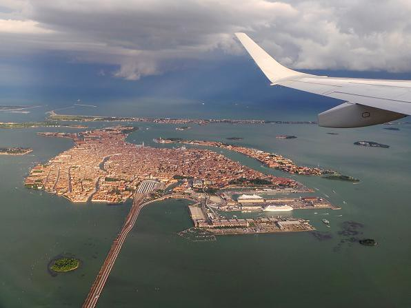 Venice from the Air (Explored)