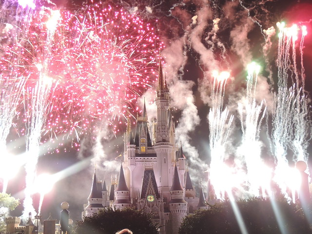 Fireworks at Walt Disney World Magic Kingdom