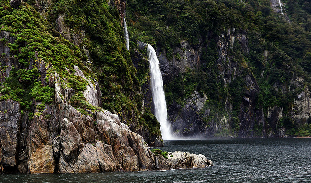 The beauty of  Milford Sound.