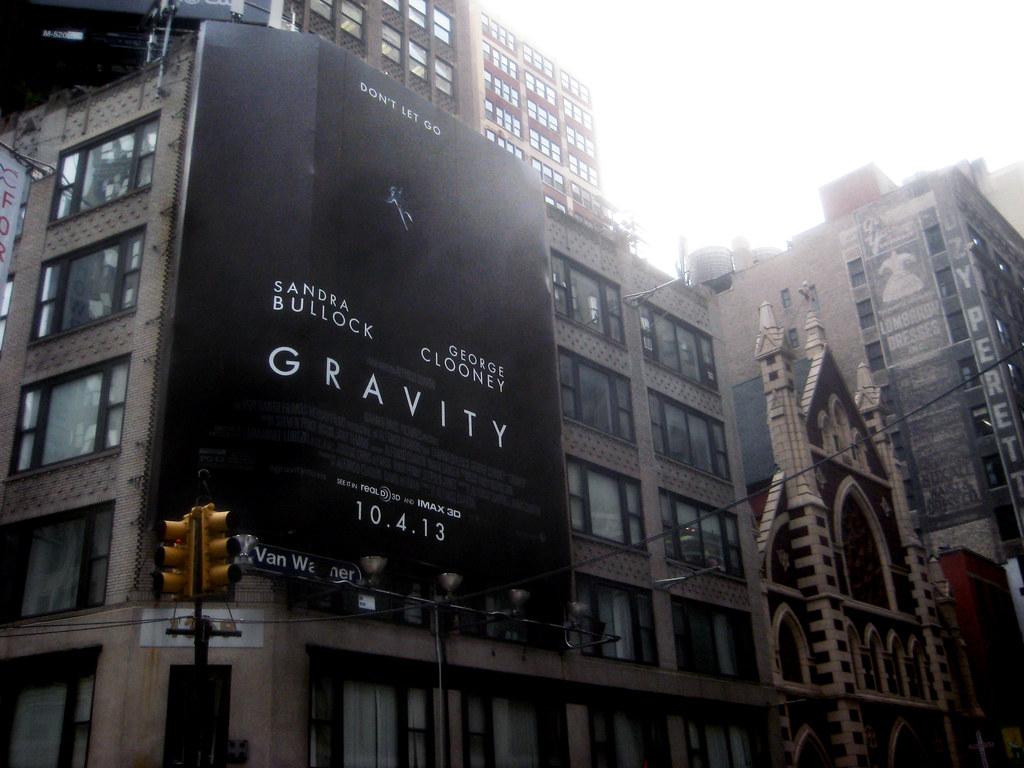 Gravity Movie Poster Billboard Sci-Fi 3D 6018 | Gravity Movi