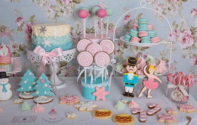 Candy Christmas Table