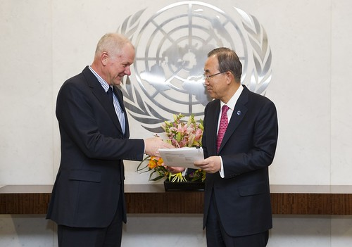 Secretary-General Receives Report of UN Investigation on Possible Use of Chemical Weapons in Syria | by for the elimination of Syrian chemical weapons