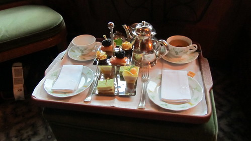 Afternoon tea on the Eastern & Oriental Express | by David Jones