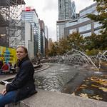 Emily in Columbus Circle