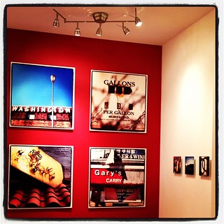 DC Lo-Fi is hung and I'm (almost) ready for tomorrow's opening. @anacostiaarts