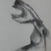 """""""Cabeça de Cavalo!?""""./""""Horse head!?"""". Carvão sobre papel/Charcoal on paper, 1990."""