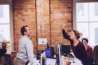 Around the Envato Office - Highfive! | by envato