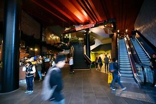 RMIT Swanston Academic Building entrance lobby, Melbourne | by Joe Lewit