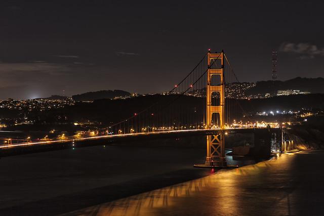 Friday Night Bridge Lights