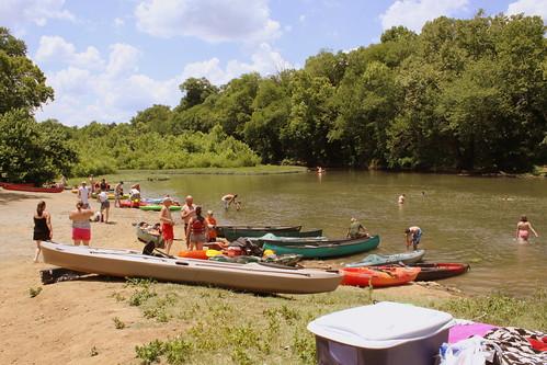 Fun on the Duck River - Milltown, TN
