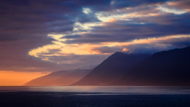 Sunset at the Lost Coast