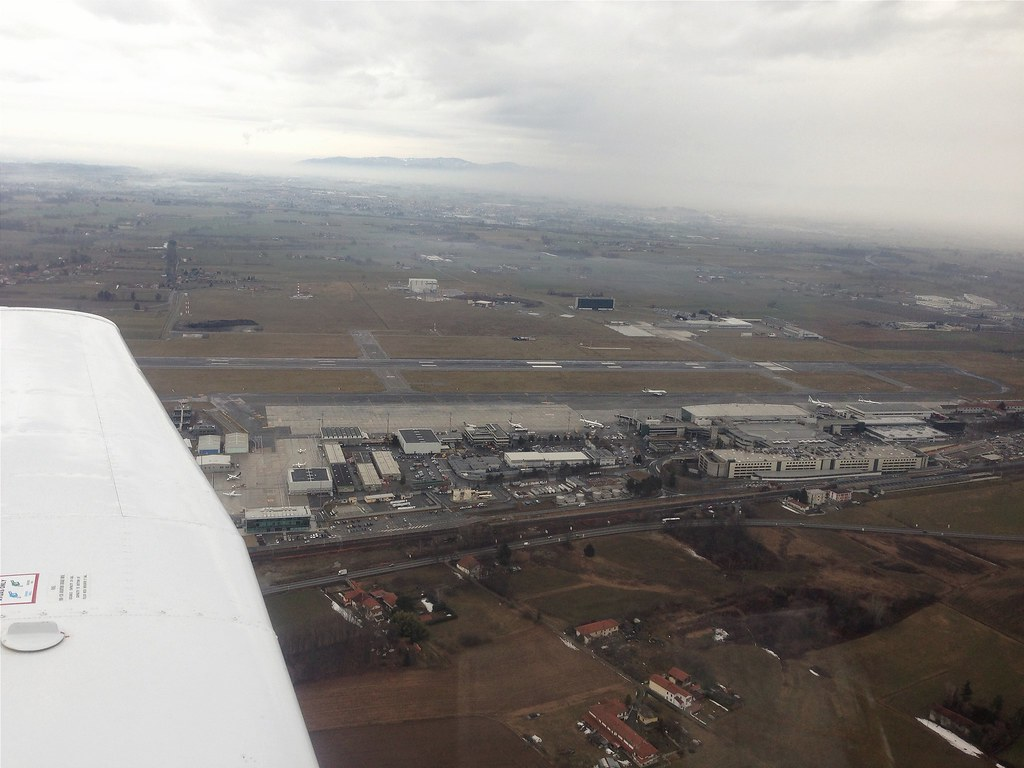 Turin Airport | Aerial view of Turin Airport [TRN/LIMF ...