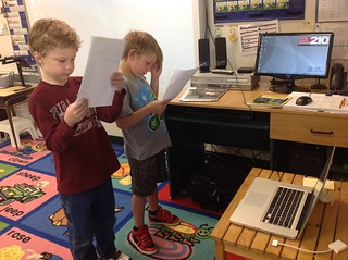 Reader's Theatre with Skype | by Kathy Cassidy