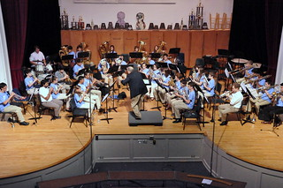BOB Camp 2012.  Final performance at Lanier Middle School, Houston, Texas