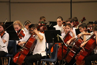 Holiday Orchestra Concert with 5th and 6th Grade Orchestra (Saline, Michigan, December 19, 2013) | by cseeman