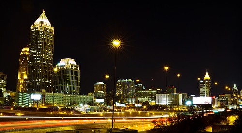 Atlanta Skyline from the 17th Street Bridge | by seanpinto