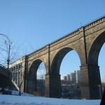 Bridge into NY
