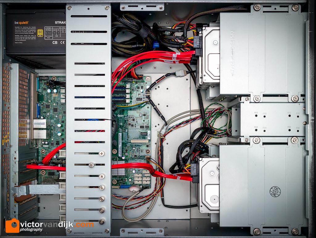 VMWare ESXi 5 5 / NAS server   - Antec 4u case - Intel S1200
