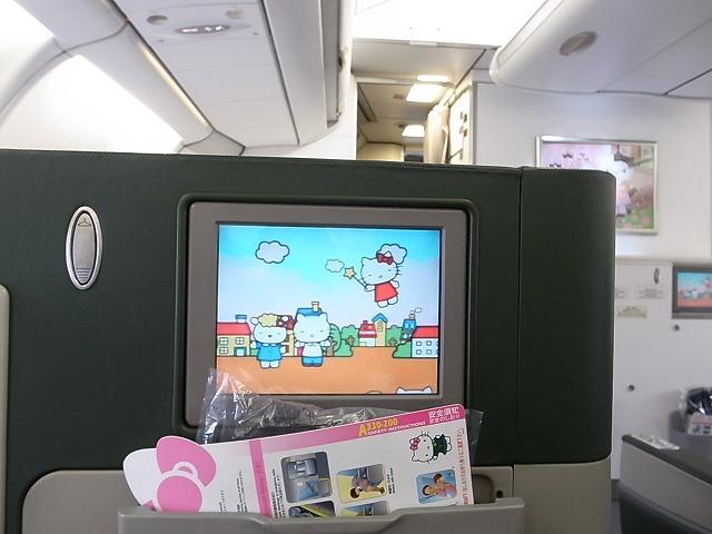<p>キティーちゃん飛行機でした</p>
