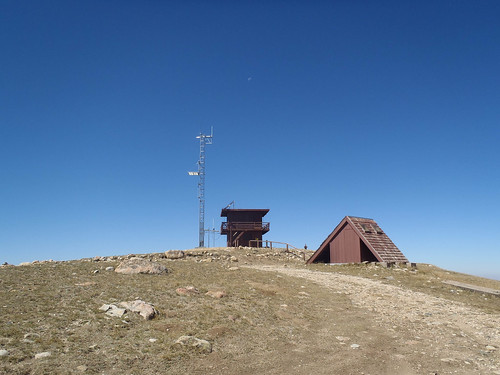 Kennaday Peak Fire Lookout -Just Trails