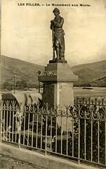 Les Pilles : le monument aux morts