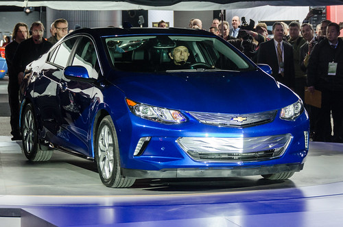2015 Chevy Volt Reveal Photo