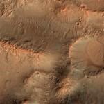 Crater in Molesworth Crater