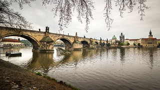 Charles Bridge - Prague, Czech Republic | by traxxaxss
