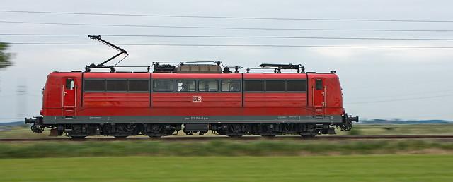 DBS 151 014-8 im schnellen Galopp