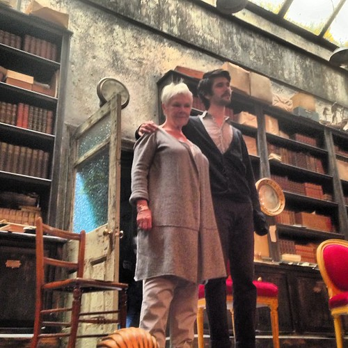 Fab Q&A after Peter and Alice with Dame Judi Dench, Ben Whishaw and Michael Grandage