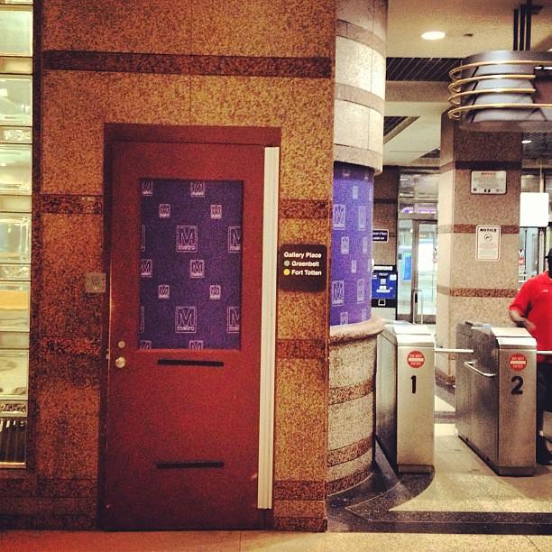 DC Metro in Cleveland. #captainamerica2 #captainamerica